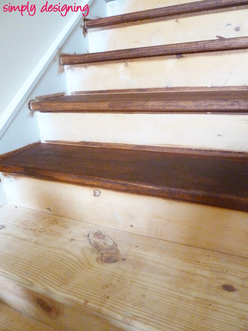 Staircase Make Over Part 2 Mistakes To Avoid And How To Do It Right | Best Wood For Basement Stairs | Stair Risers | Staircase Remodel | Tile | Modern Stair Railing | Staircase Designs