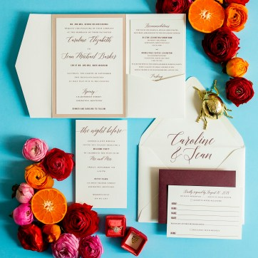 Moder Wedding Invitation