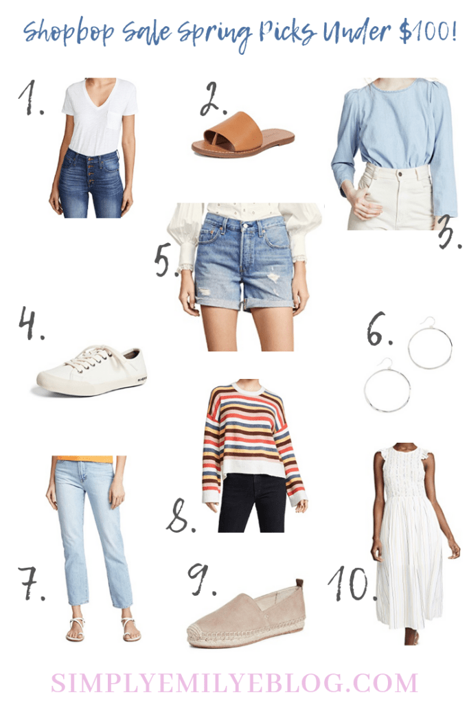 Shopbop Sale Spring Picks Under $100! Simply Emily E Blog