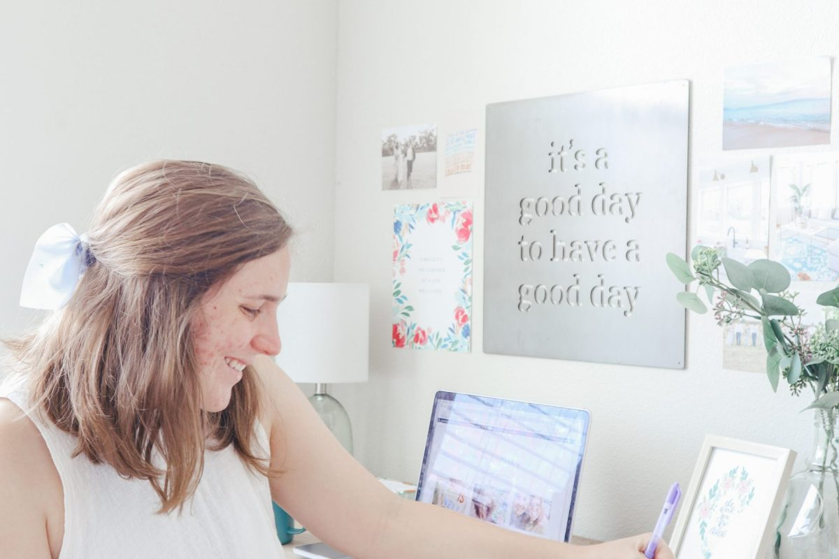 Simply Emily E Work From Home Workspace