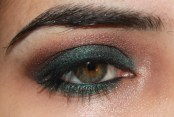 Green Smokey Look with Urban Decay Smoked palette