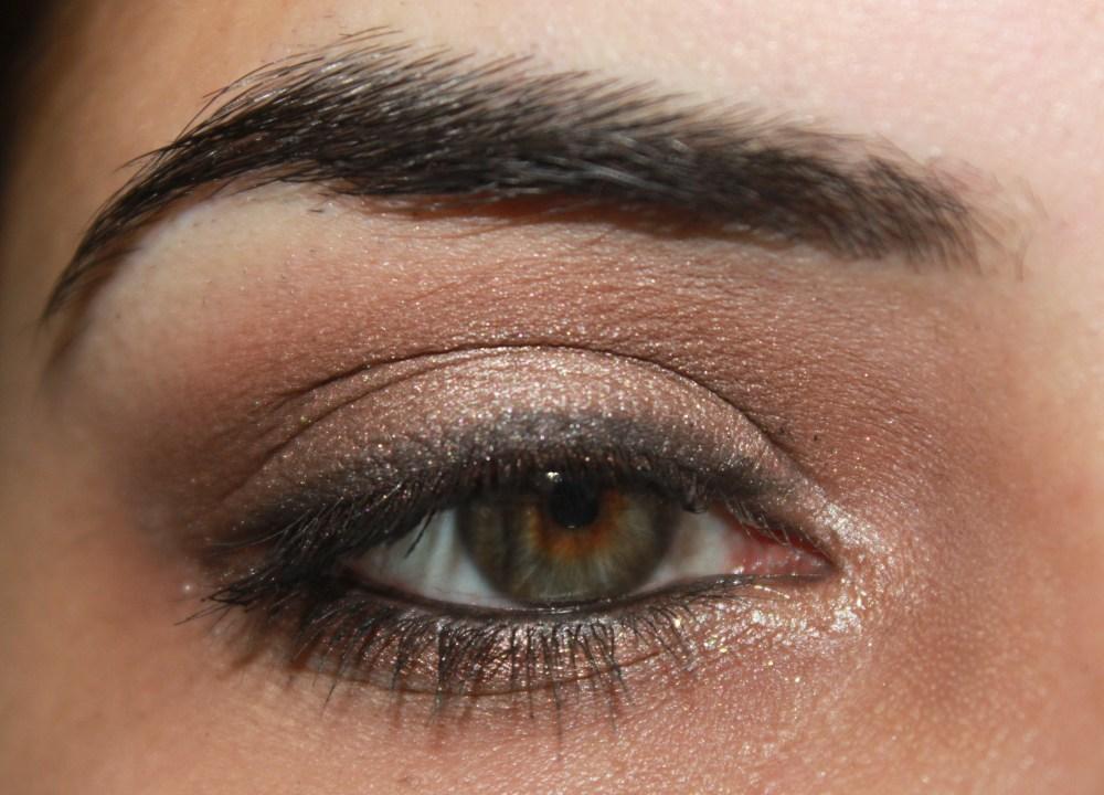 LORAC Pro palette : Bronzed Pewter Eye Look (3/3)