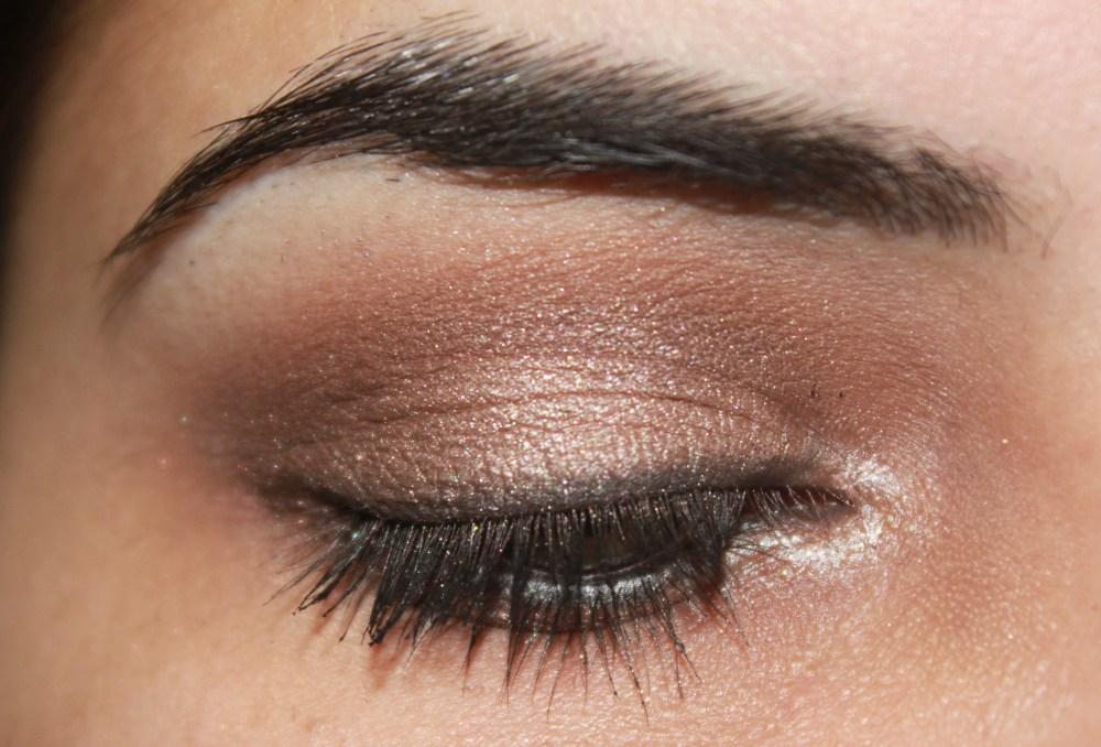 LORAC Pro palette : Bronzed Pewter Eye Look (2/3)