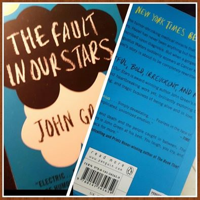A Thought or Two on John Green's The Fault in Our Stars