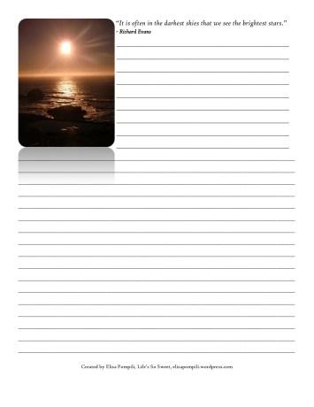 Simply Faithful - journal page - Elisa Pompili