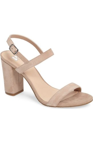 Simplicity is key, right? These Kim K inspo heels are anything but basic. This strap across heel is ready for an all-day transition from the workplace to the after hours. Retailing for under $60 at http://shop.nordstrom.com/s/bp-lula-block-heel-slingback-sandal-women/4476919?origin=category-personalizedsort&fashioncolor=BLUSH%20SUEDE