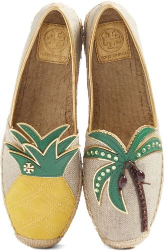 What better way to get yourself in the warm-weather mood than these festive shoes?! Tory Burch outdid herself with these. http://shop.nordstrom.com/s/tory-burch-castaway-espadrille-slip-on-women/4598913?origin=keywordsearch-personalizedsort&fashioncolor=NATURAL%2F%20MULTI%20COLOR