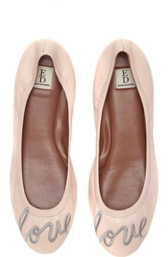 ED by Ellen DeGeneres is making it's way into our closet this season. For only $89.95, the 'Langston' Ballet Flat is ready to brighten up your wardrobe with a motivational word at the tip. http://shop.nordstrom.com/s/ed-ellen-degeneres-langston-ballet-flat-women/4280942?origin=category-personalizedsort&fashioncolor=PINK%20CHAMPAGNE%20LEATHER