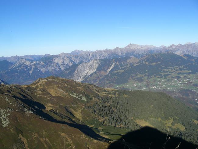Tag 2: Blick von der Geißspitze
