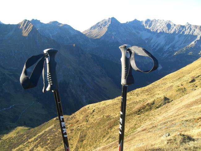 Tag 2: Meine Trekkingstöcke möchte ich nicht mehr missen