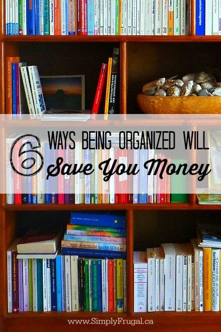 52 Ways To Save Get Organized