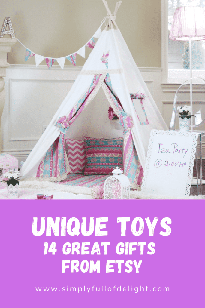 Unique Toys - 14 Great Gifts from Etsy