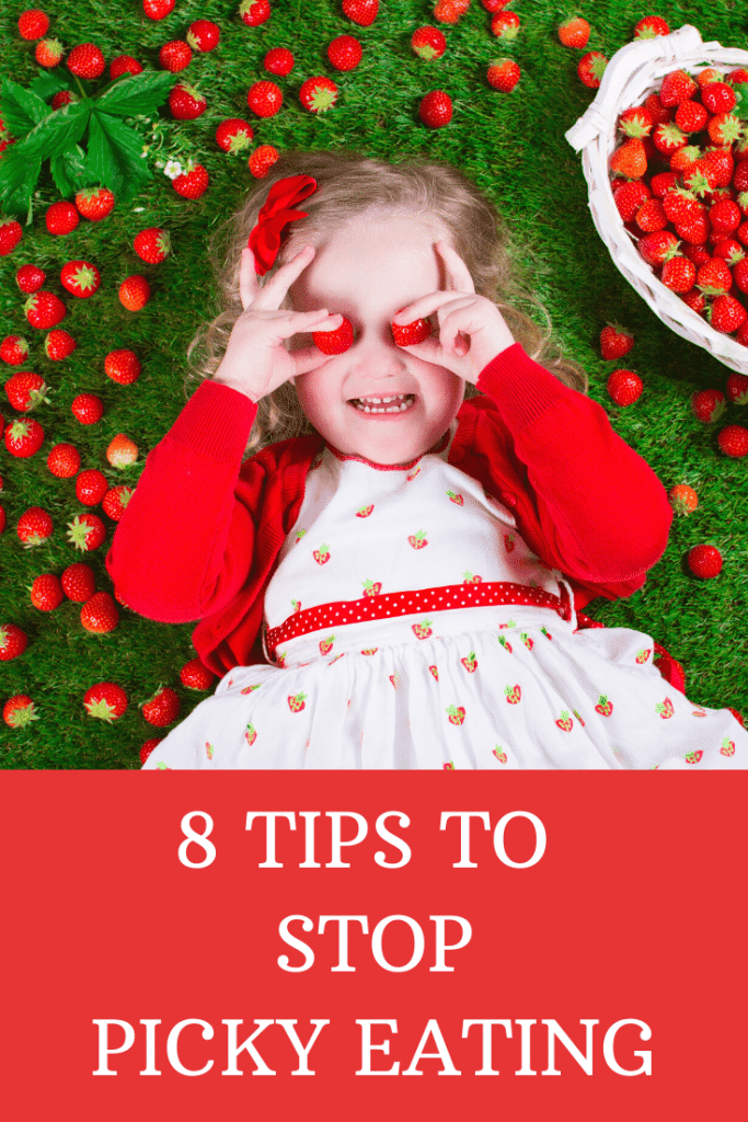 8 Tips to Stop Picky Eating  #parenting #pickyeater #picky #toddlers