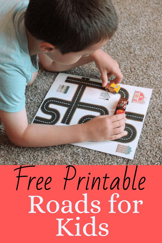Free Printable Roads for Kids