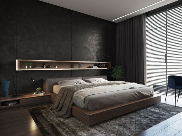 Best Mens Bedroom Ideas, Cool and Masculine - Simplyhome