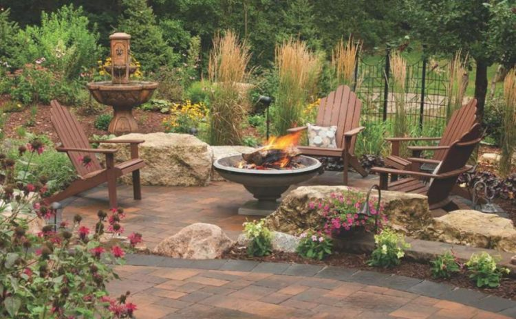 21+ Stunning Picture Collection for Paving Ideas ... on Paver Patio With Fire Pit Ideas id=87114