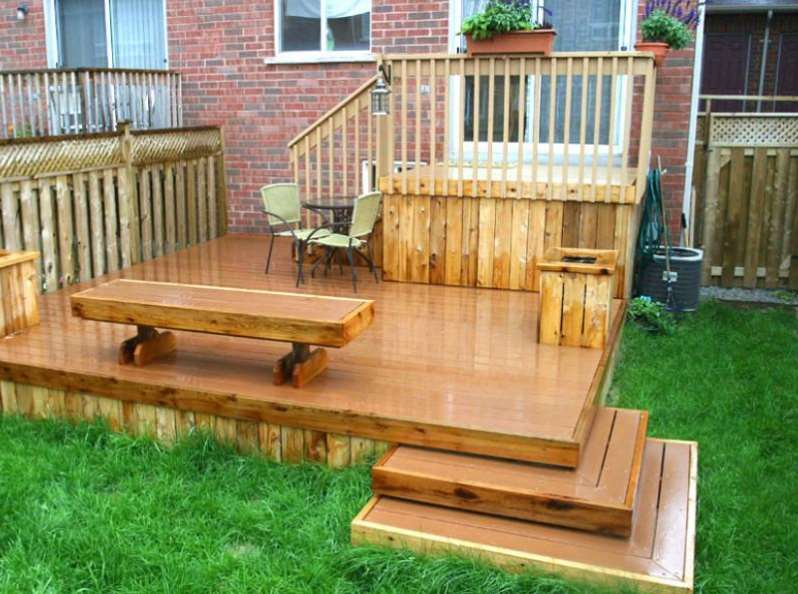 30+ Best Small Deck Ideas: Decorating, Remodel & Photos on Small Yard Deck id=21014