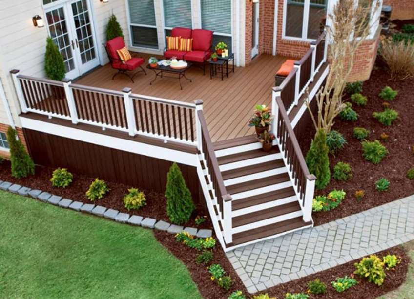 30+ Best Small Deck Ideas: Decorating, Remodel & Photos on Patio Renovation Ideas id=60224