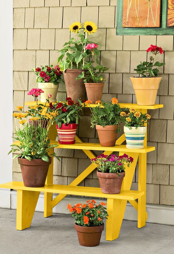 24+ DIY Plant Stand ideas to Fill Your Home With Greenery on House Plant Stand Ideas  id=22406