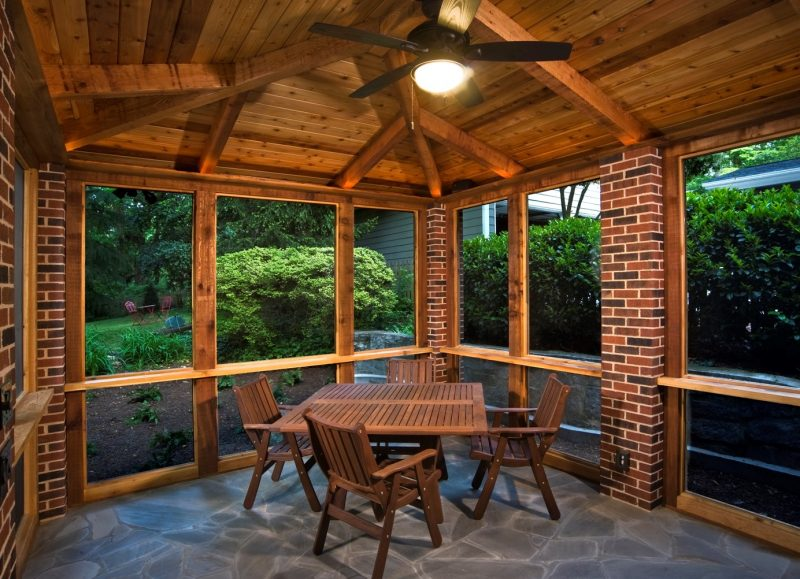 21 Screen Porch Ideas Decorating (Easy and Cheap) SimplyHome on Cheap Patio Enclosure Ideas  id=64473