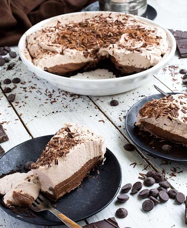 Gluten-Free Quadruple Chocolate Pie Recipe