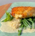 Stuffed Chicken Breast with Lemon-Goat cheese