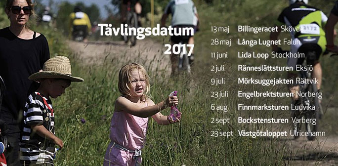 Tävlingsdatum Långloppscupen