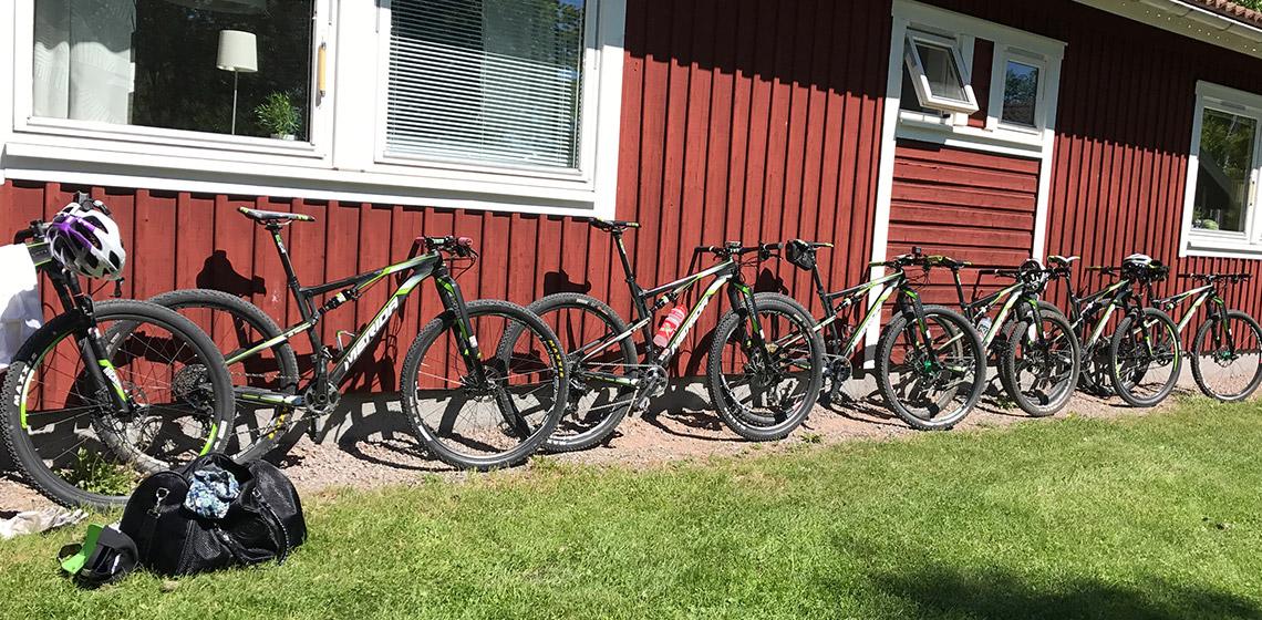 Merida cyklar på rad