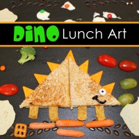 Dino Lunch: Edible Art Project