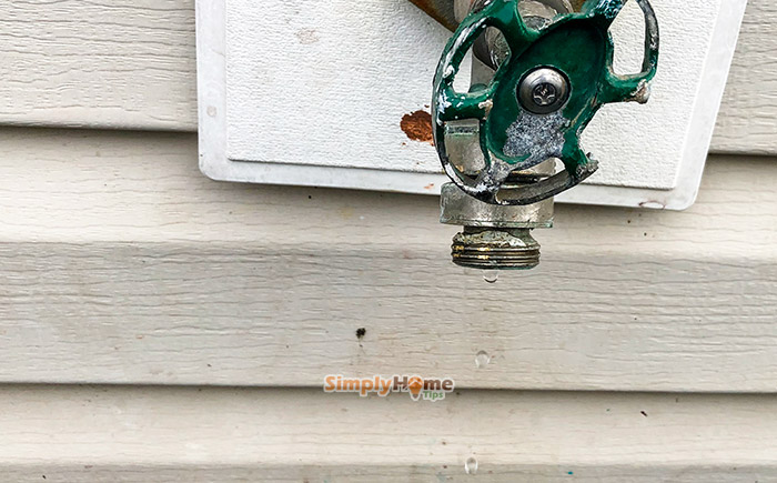 outdoor faucet leaking guide on how to