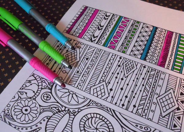 Lilt Kids Patterns Coloring Book