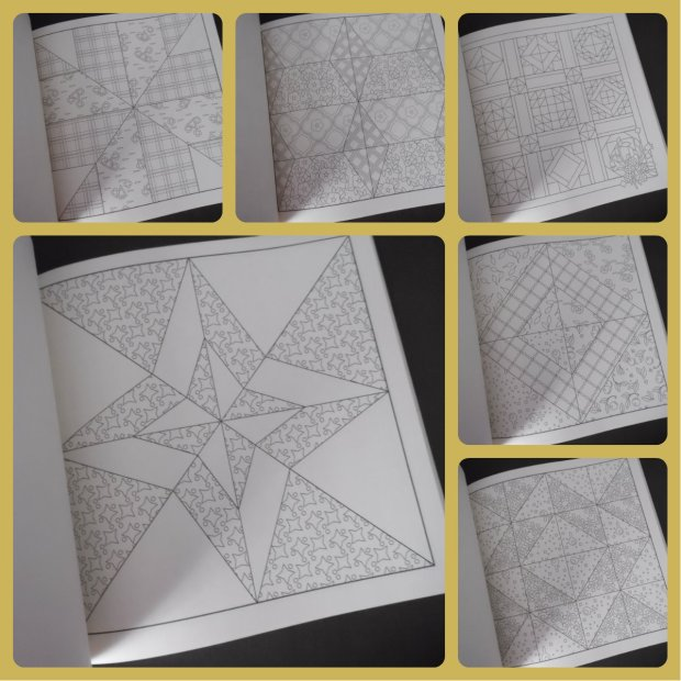 quilt coloring book