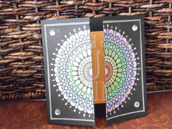 gatefold greeting card