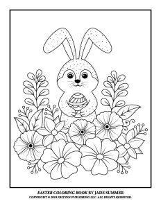 Jade Summer One Of My New Favorite Publishers Has A Free Sample Page From Their Newly Published Easter Coloring Book I Have The Digital Version This