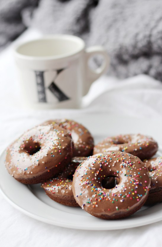 Double Chocolate Doughnuts: Simply J and K