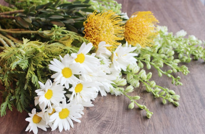 How to make the perfect wildflower arrangment