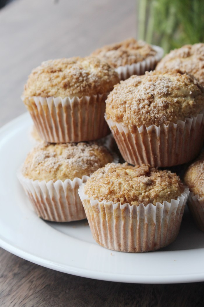 Banana Nut Streusel Muffins