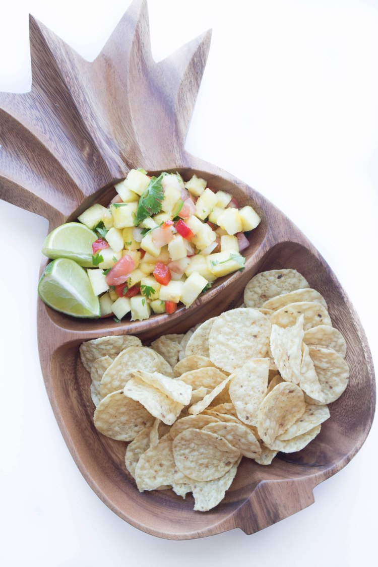 Grilling out with J & K: Pineapple Salsa