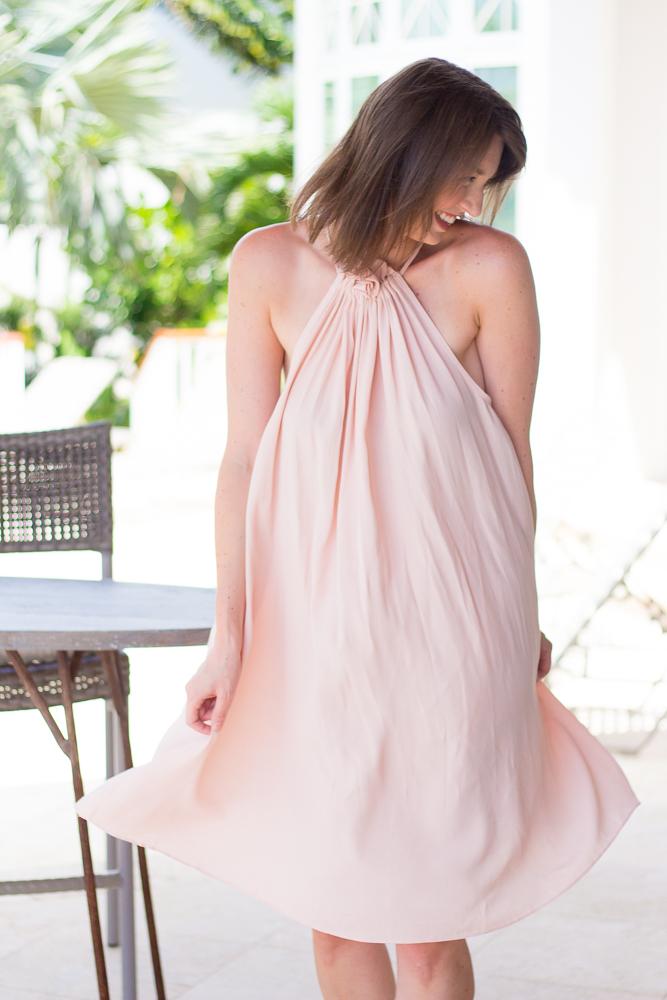 1 Year Blog Anniversary + Blush Swing Dress