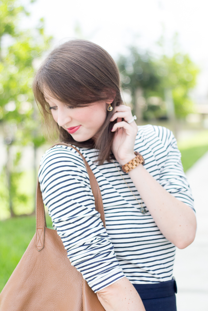How to add stripes to your fall wardrobe