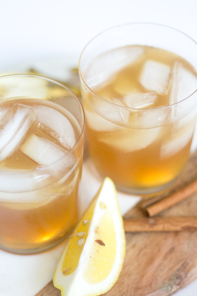 Spiced Cider Whiskey Sour