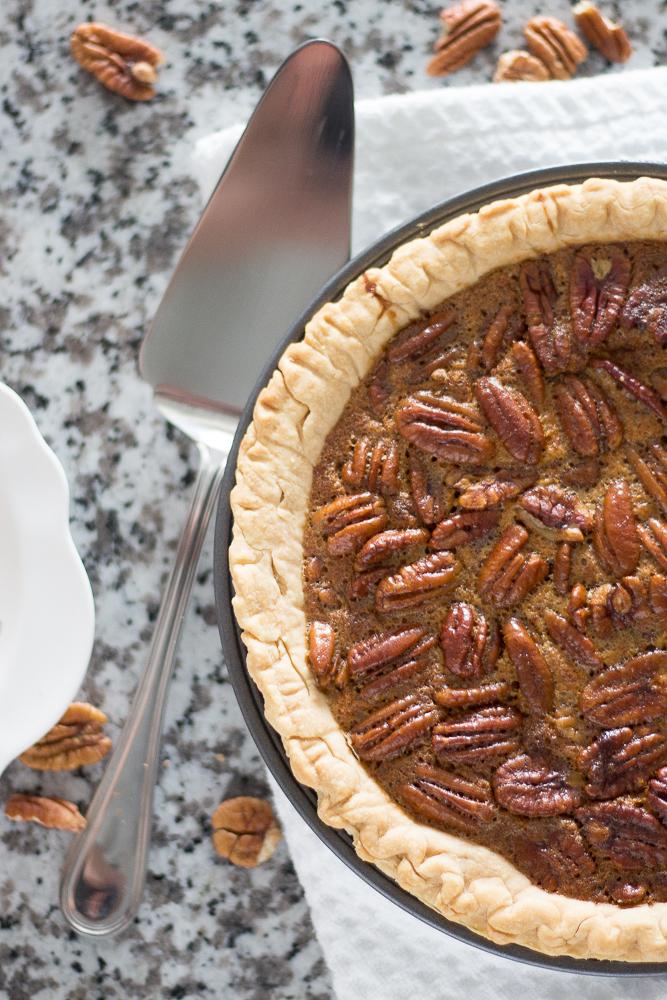 The Easiest Thanksgiving Pecan Pie