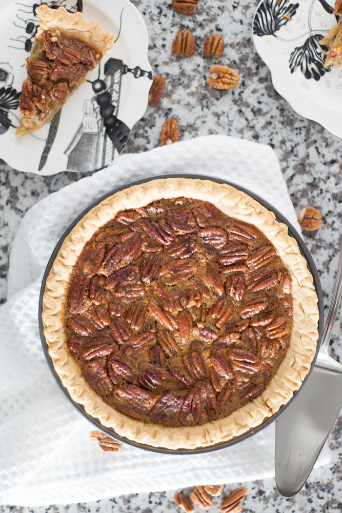 The Easiest Thanksgiving Pecan Pie