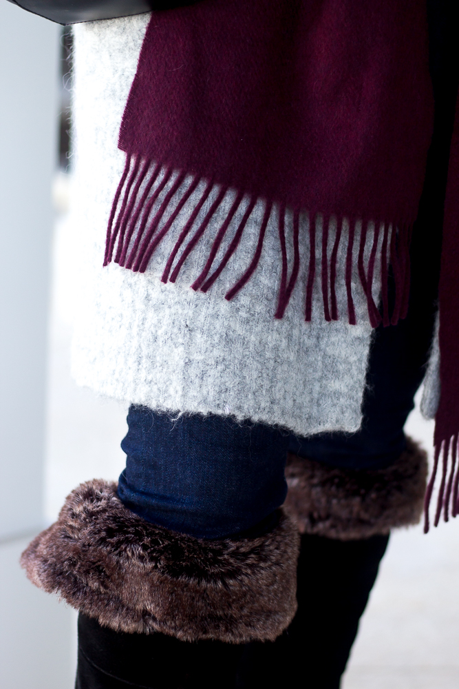 Cozy Knits and Cashmere Scarves