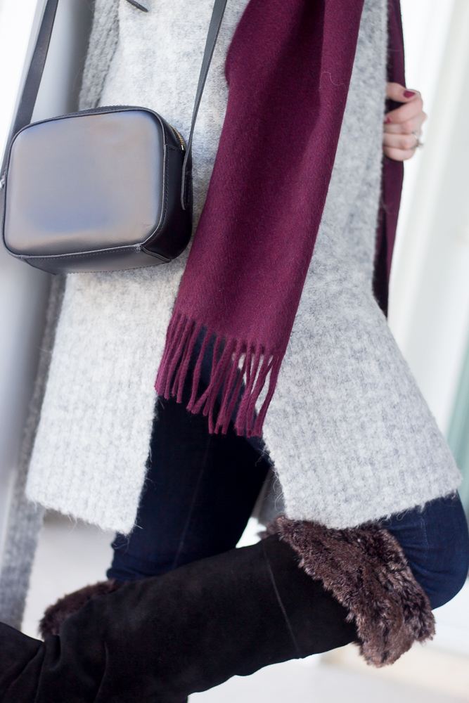 Cozy Knits and a Cashmere Scarf