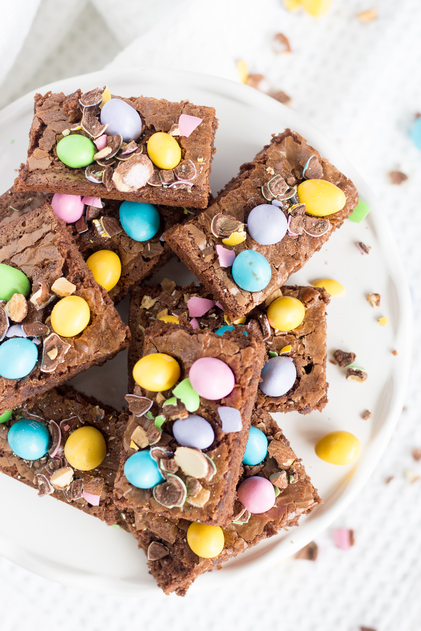 Blissful Easter Brownies