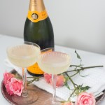 Lemon Champagne Cocktail