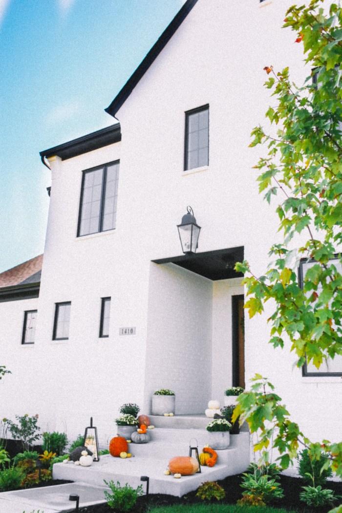 Fall Decor for a Modern Home