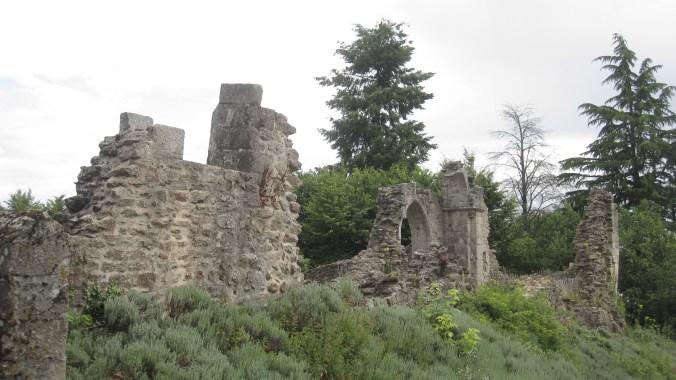 Former castle of Châlus