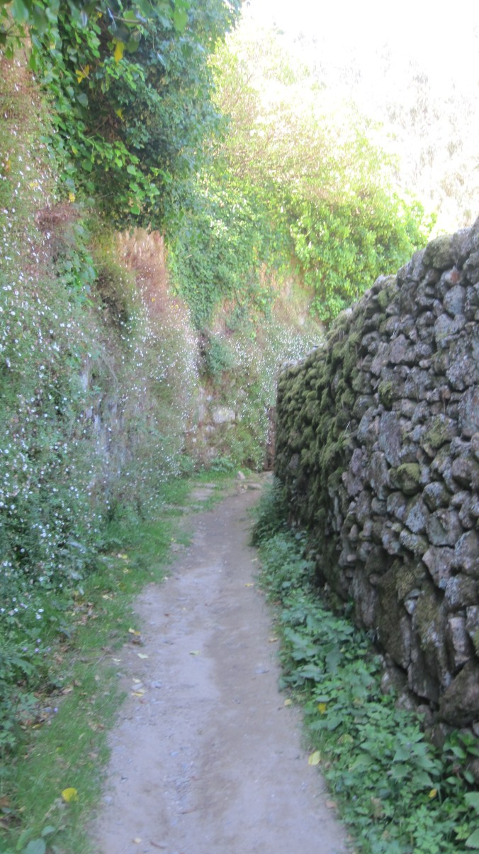 More old stone walls
